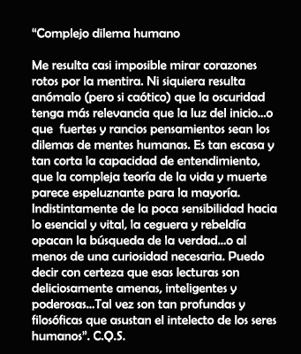 Complejo dilema humano