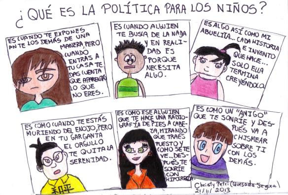 Política para los niños