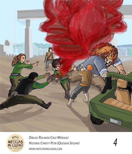 Historia XIII. Retsé. Detectives en escena. Parte IV