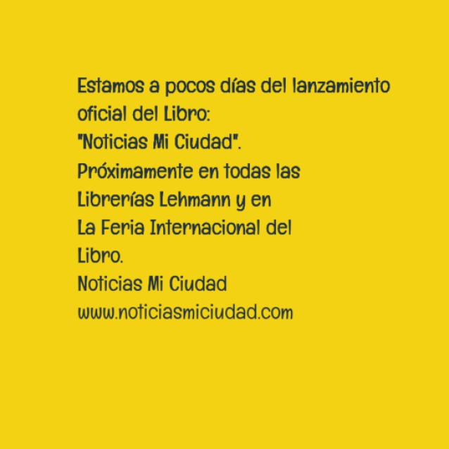 Libro Noticias Mi Ciudad