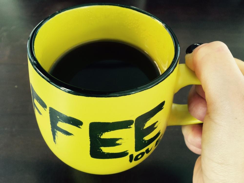 El café enciende el alma.