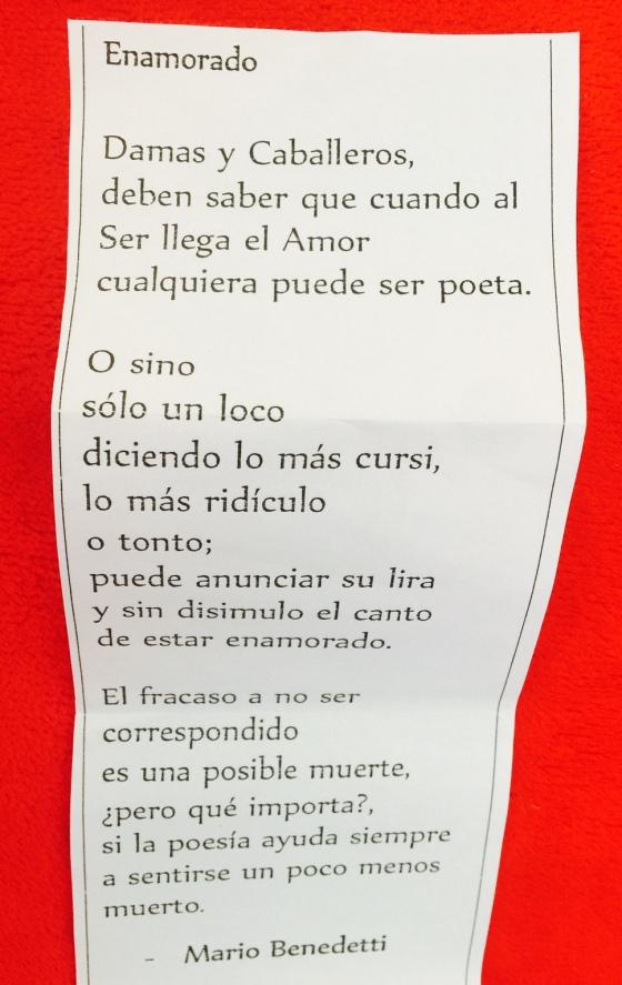 El poema del café